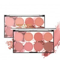 Палитра румян Miss Rose Blusher Palette