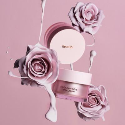 Восстанавливающий и питательный крем с болгарской розой Heimish Bulgarian Rose Satin Cream - 55 ml