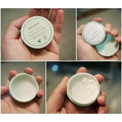 Минеральная матирующая пудра Innisfree No-Sebum Mineral Powder Mint for Oil