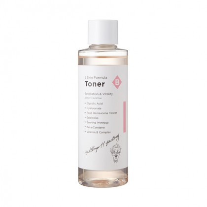 Отшелушивающий тонер Village 11 Factory B Skin Formula Toner