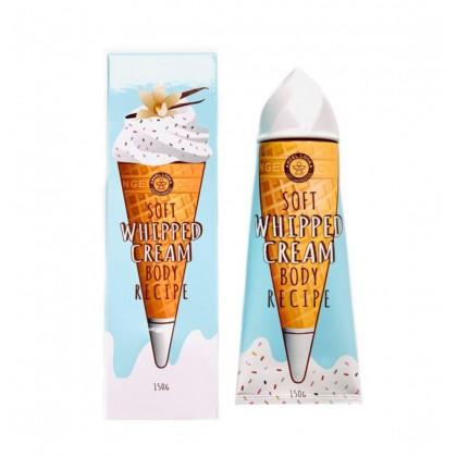 Крем для тела с ароматом ванили Angel Looka Soft Whipped Cream Body Recipe Vanilla