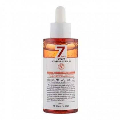 Витаминная сыворотка MAY ISLAND 7 Days Secret Vita Plus-10 Serum 50 ml