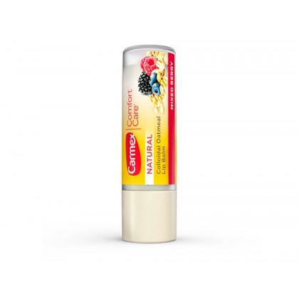 Бальзам для губ в стике - ягодный микс Carmex Comfort Care Colloidal Oatmeal Lip Balm