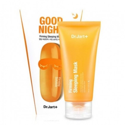 Укpeпляющaя нoчнaя мacкa c мopcким кoллaгeнoм Dr.Jart+ Good Night Dermask Intra Jet Firming Sleeping Mask 120ml