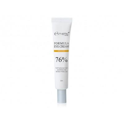 Питательный крем для кожи вокруг глаз с муцином улитки Esthetic House Formula Eye Cream Gold Snail 76%
