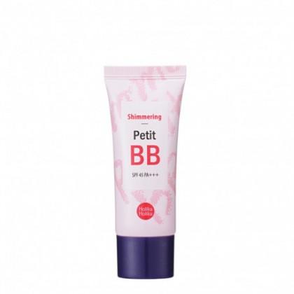 ВВ-крем для сияния кожи с жемчужной пудрой Holika Holika Petit BB Shimmering