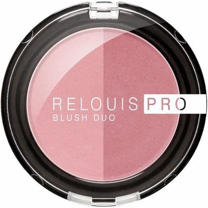 Румяна компактные для лица Relouis Pro Blush Duo 202