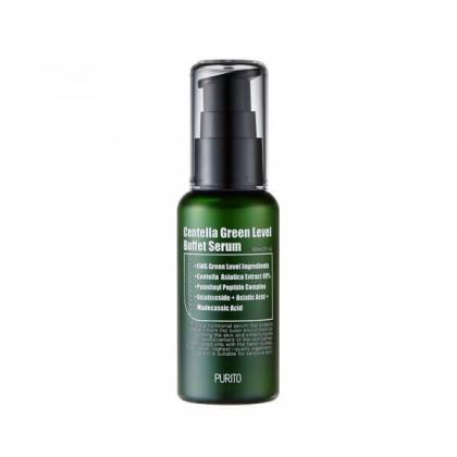 Cыворотка для восстановления кожи с центеллой PURITO Centella Green Level Buffet Serum