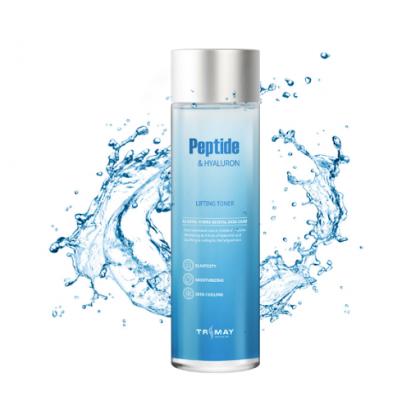 Лифтинг-тонер с пептидами и гиалуроновой кислотой Trimay Peptide & Hyaluron Lifting Toner