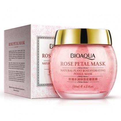 Увлажняющий крем-маска для лица с экстрактом розы BioAqua Rose Petal Mask