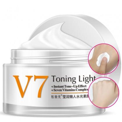 База для макияж с витаминным комплексом Bioaqua V7 toning light