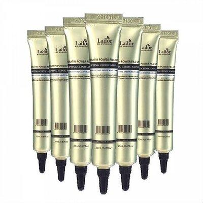 Ночная кератиновая сыворотка для волос Lador Sleeping Clinic Ampoule