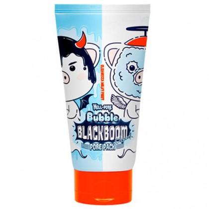 Кислородная маска для очищения пор Elizavecca Hell-Pore Bubble Blackboom Pore Pack