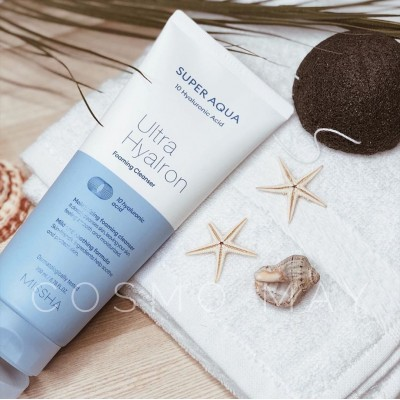 Пенка для умывания MISSHA Super Aqua Ultra Hyaluron Cleansing Foam