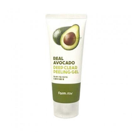 Пилинг-гель с авокадо FarmStay Real Avocado Deep Clear Peeling Gel, 100мл