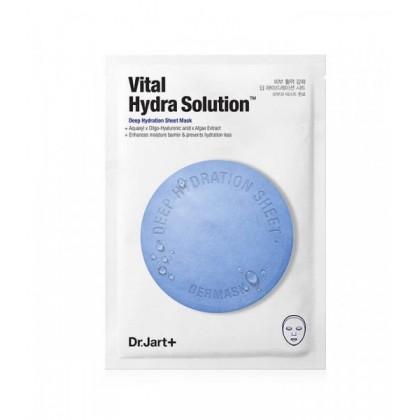 Увлажняющая маска с гиалуроновой кислотой Dr. Jart+ Dermask Vital Hydra Solution Face Sheet Mask