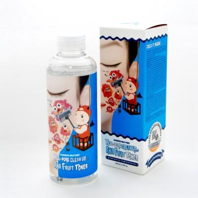 Пилинг-тонер с фруктовыми кислотами Elizavecca Face Care Hell-Pore Clean Up Aha Fruit Toner