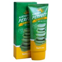 Солнцезащитный крем с алое Farm Stay Alovera Perfect Sun Cream SPF50+/PA+++