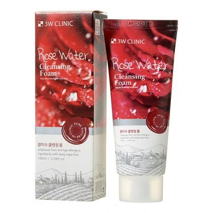 Пенка для умывания с экстрактом розы Rose Water Foam Cleansing