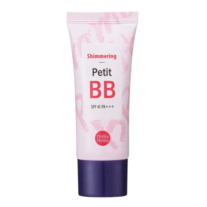 Сияющий BB крем для лица Holika Holika Shimmering Petit BB Cream SPF45