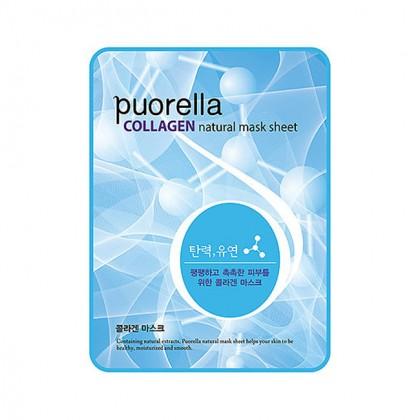 Маска с коллагеном Baroness Puorella Collagen Natural Mask Sheet