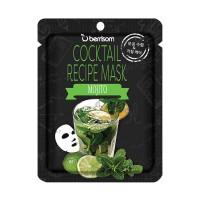 Коктейльная тканевая маска Мохито Berrisom Cocktail Recipe Mask - Mojito