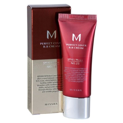 BB крем для лица Missha M Perfect Cover SPF42/PA+ 20мл