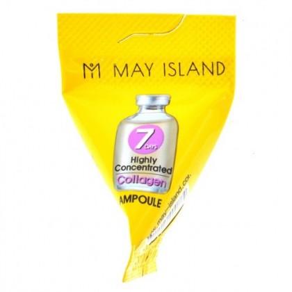 Высококонцентрированная сыворотка с коллагеном May Island 7 Days Collagen Ampoule