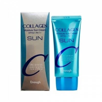 Солнцезащитный крем с коллагеном Enough Collagen Moisture Sun Cream SPF50+ PA+++