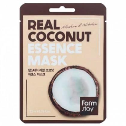 Тканевая маска для лица с экстрактом кокоса FarmStay Real Coconut Essence Mask