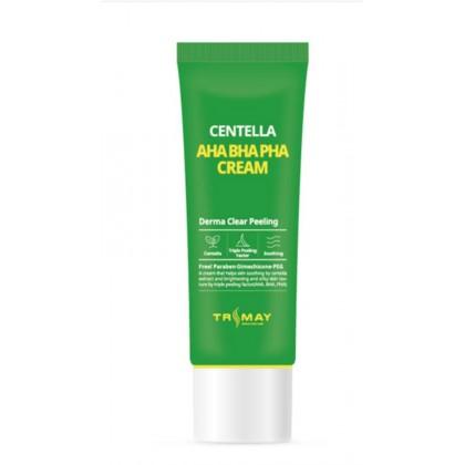 Обновляющий крем для лица с кислотами и центеллой Trimay Aha Bha Pha Centella Cream