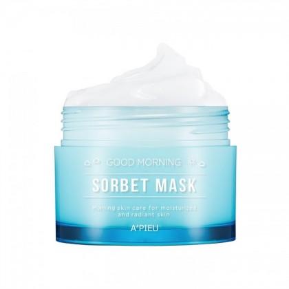 Маска для лица увлажняющая утренняя A'pieu Good Morning Sorbet Mask