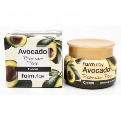 Крем для лица FarmStay Avocado Preimum Pore Cream