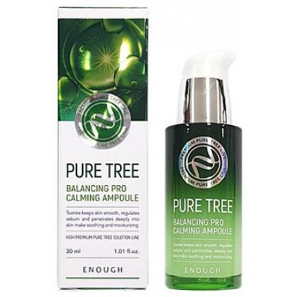 Сыворотка для лица с экстрактом чайного дерева Enough Pure Tree Balancing Pro Calming Ampoule