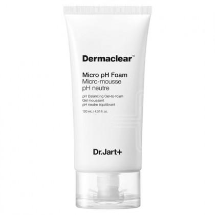 Гель-пенка для умывания глубокого очищения pH 5.5 Dr. Jart+ Dermaclear Foam