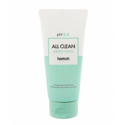 Очищающая пенка для лица Heimish All Clean Green Foam pH 5.5