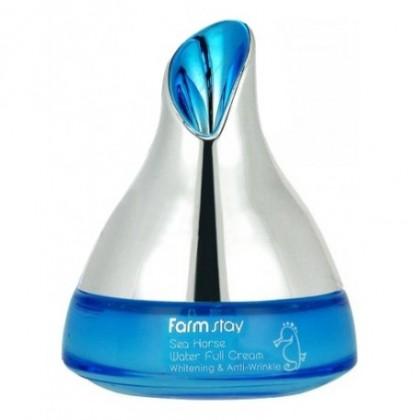 Увлажняющий антивозрастной крем с экстрактом морского конька FarmStay Sea Horse Water Full Cream