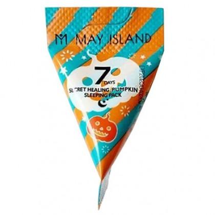 Ночная маска с экстрактом тыквы May Island 7 Days Secret Healing Pumpkin Sleeping Pack