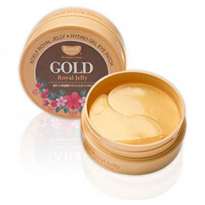 Гидрогелевые патчи для глаз с золотом KOELF Gold & Royal Jelly Eye Patch 60шт