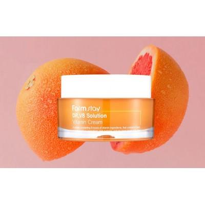 Тонизирующий крем с витаминами FARMSTAY Dr.V8 Solution Vitamin Cream 50мл